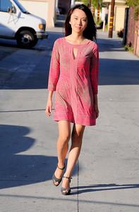 beautiful woman model red dress 264.90...