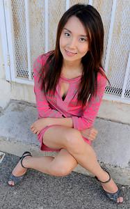 beautiful woman model red dress 197.45.5
