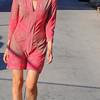 beautiful woman model red dress 271.090..