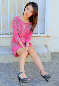 beautiful woman model red dress 156.345.3.45