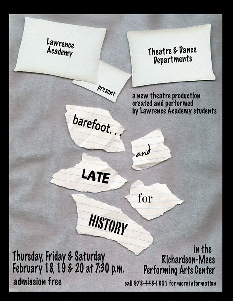 Barefoot and Late for History - Winter 2010