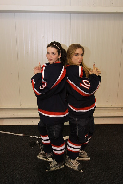 Girls Hockey Candids FEBRUARY 2011