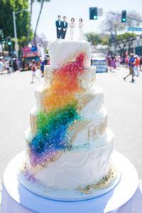 5 layer wedding cake symbolizing the Colorado Bakery Case
