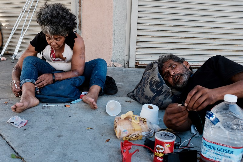 White bread, Pringles and heroin