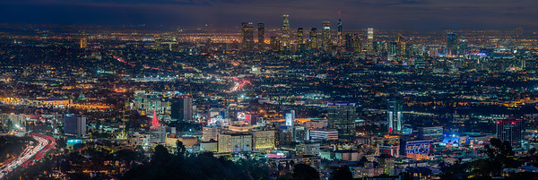 LA Skyline Night
