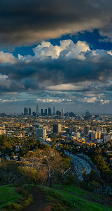 LA Skyline from Hollywood Bowl OL