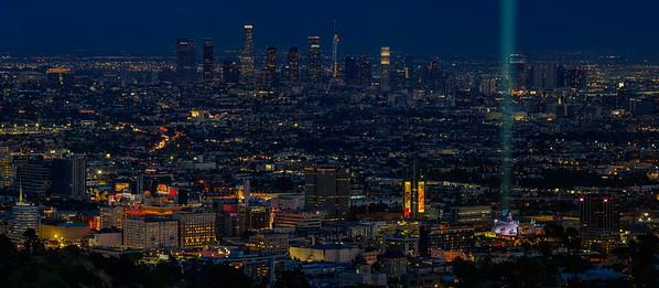 Godzilla takes LA