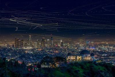LA Skyline & Griffith Observatory