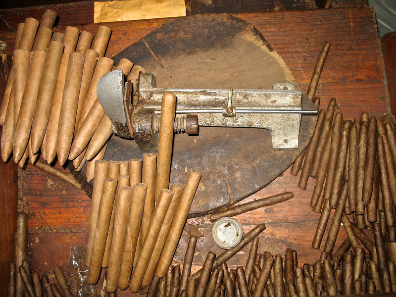 At Fifi, you can see cigars being made by hand using traditional methods.