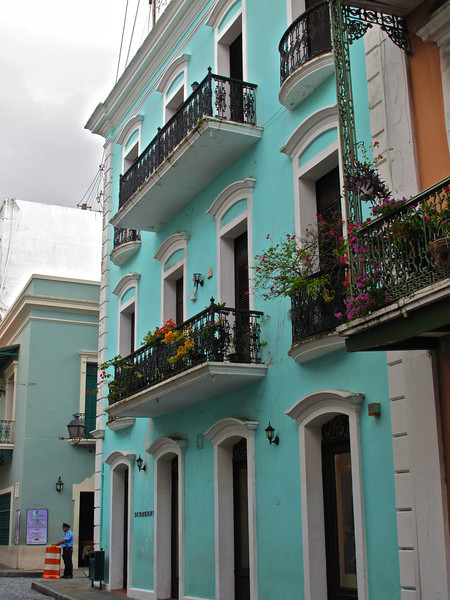The architecture of San Juan is very diverse, due to its size and all the cultural influences received during its existence. The oldest part of the city, known as Old San Juan, mostly features the influence of Spanish architecture. This part of the city is comprised by a network of setted roads usually surrounded by ancient, two-storied houses built on masonry.