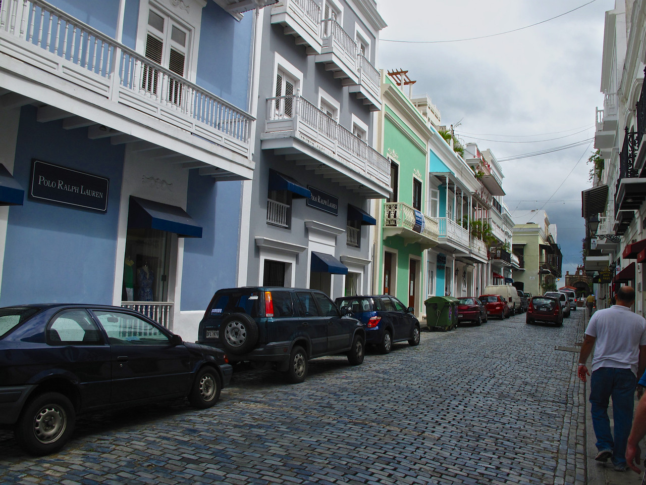 The buildings in Old San Juan are extremely colorful.