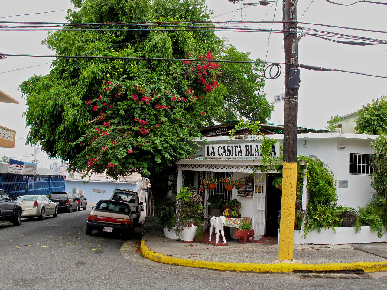 La Casita Blanca is a great place to sample true, home cooked Puerto Rican food.  It's off the beaten path, so a taxi ride is the easiest way to find it.