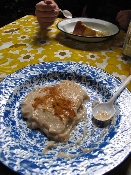 Tembleque (coconut pudding) and flan are two popular Puerto Rican desserts.
