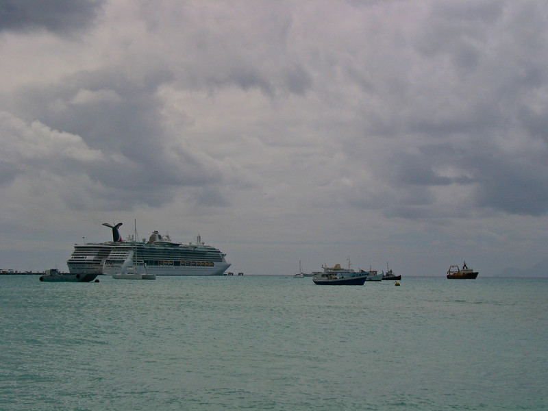 St Martin is also a large cruise ship port which can bring hundreds of people into town in a short few minutes.