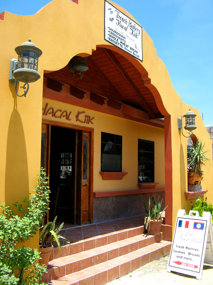 Next door to Neri's Taco's is the French Bakery.
