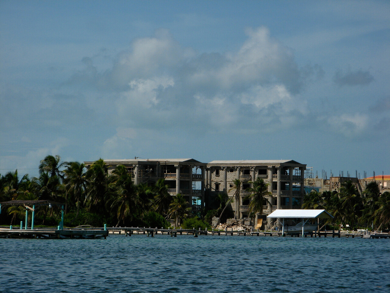 This is another property under construction by the same owners of Pelican Reef.  It's just a few doors up.