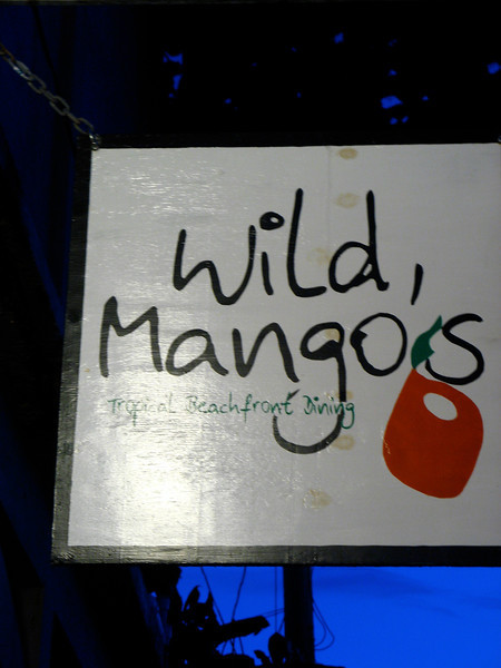 Wild Mango's is one of the best places to eat on the island.