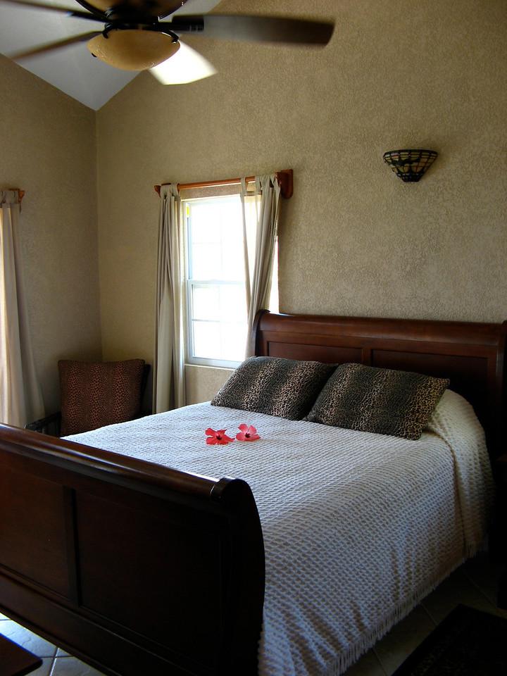 Downstairs bedroom #1.