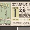 Los Angeles Railway weekly pass, 1934-08-26
