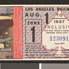 Los Angeles Railway weekly pass, 1937-08-01