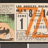 Los Angeles Railway weekly pass, 1936-03-08