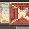 Los Angeles Railway weekly pass, 1937-01-17