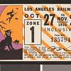 Los Angeles Railway weekly pass, 1935-10-27