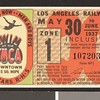 Los Angeles Railway weekly pass, 1937-05-30