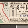 Los Angeles Railway weekly pass, 1935-09-08