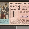 Los Angeles Railway weekly pass, 1936-05-03