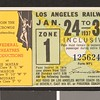 Los Angeles Railway weekly pass, 1937-01-24