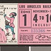 Los Angeles Railway weekly pass, 1934-11-04