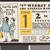 Los Angeles Railway weekly pass, 1934-09-02