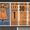 Los Angeles Railway weekly pass, 1935-06-30