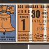 Los Angeles Railway weekly pass, 1935-06-30