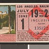 Los Angeles Railway weekly pass, 1936-07-19