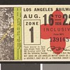 Los Angeles Railway weekly pass, 1936-08-16