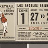 Los Angeles Railway weekly pass, 1935-01-27