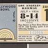 Los Angeles Railway weekly pass, 1934-07-08
