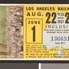 Los Angeles Railway weekly pass, 1937-08-22