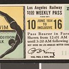 Los Angeles Railway weekly pass, 1934-06-10