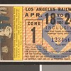 Los Angeles Railway weekly pass, 1937-04-18