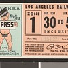 Los Angeles Railway weekly pass, 1934-12-30