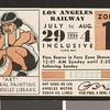 Los Angeles Railway weekly pass, 1934-07-29