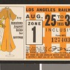 Los Angeles Railway weekly pass, 1935-08-25