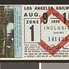 Los Angeles Railway weekly pass, 1936-08-09