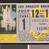 Los Angeles Railway weekly pass, 1936-07-12