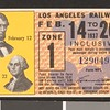 Los Angeles Railway weekly pass, 1937-02-14