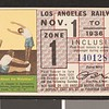 Los Angeles Railway weekly pass, 1936-11-01