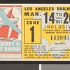Los Angeles Railway weekly pass, 1937-03-14